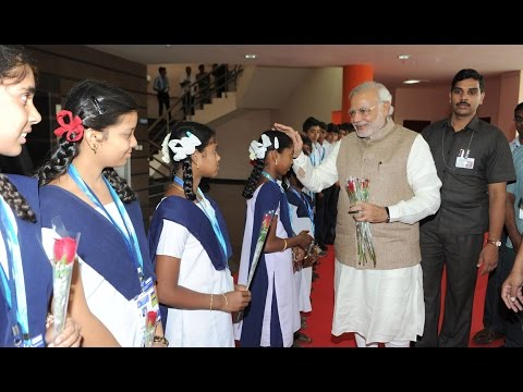 Compete with yourself, not with others: PM to Students