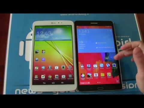 Samsung Galaxy Tab Pro 8.4 vs. LG G Pad 8.3 by Androidblog.it