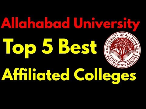 Top 5 Affiliated College Of Allahabad University. | Ranking , Facilities Full Information