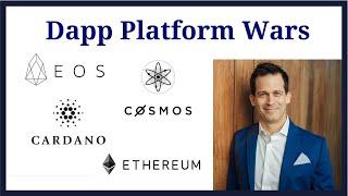 Dapp Platform Wars - EOS vs Ethereum vs Cardano vs Cosmos decentralized application platform battles
