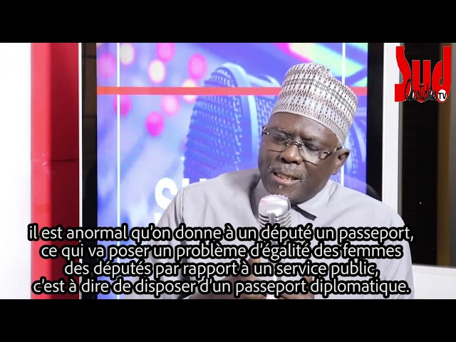 ''Il y a eu, soit de la négligence, soit de la complicité'' Moustapha Diakhaté sur les passeports