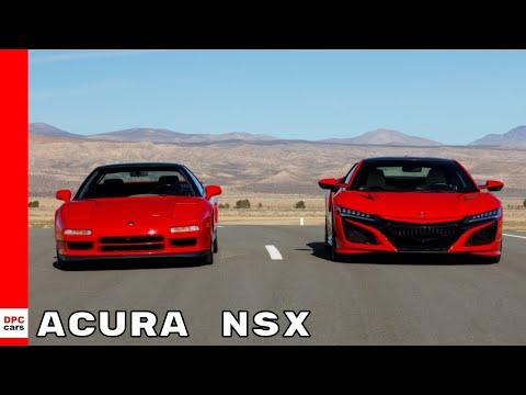 Acura NSX 30 Years Since The Original NSX Supercar