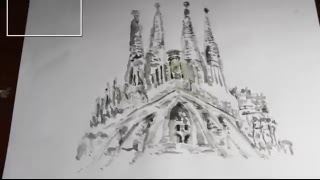 ONLINE 2 - DRAWING - LA SAGRADA FAMILIA/THE HOLY FAMILY