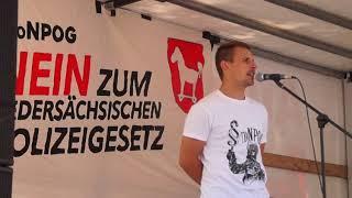 #noNPOG - NEIN zum neuen niedersächsischen Polizeigesetz! Demo-Reden in Braunschweig (18.8.2018)