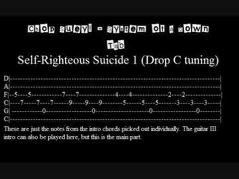 Chop Suey! Tab System of a Down - YouTube