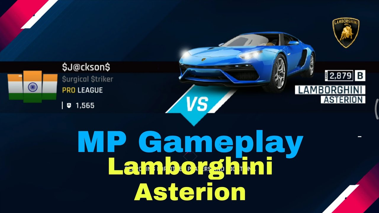 Asphalt 9 Lamborghini Limited Series Mp Play Asterion 4 Max You
