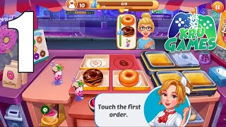 Cooking Master :Fever Chef Restaurant Cooking Game Gameplay Walkthrough #1 (Android, IOS) screenshot 1