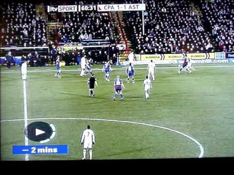 Neil Warnock Swearing on TV, Crystal Palace v Aston Villa, 14 Feb 2010 Finished 2:2