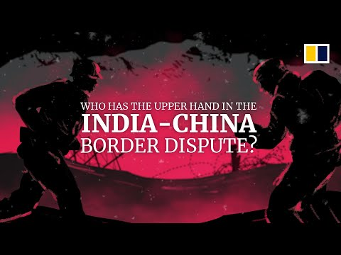Who has the upper hand in the India-China border dispute?