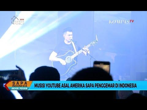 Musisi YouTube Joseph Vincent Sapa Penggemarnya di Jakarta Mp3