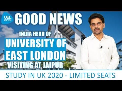 STUDY IN UK | University Of East London | Jaipur | International Student Visa | UEL | Abroad 2020