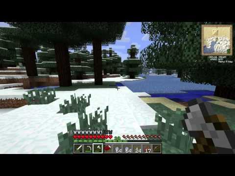 Let's Play MineCraft #8: Sheep & Snowmen