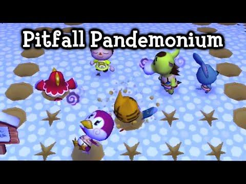 Animal Crossing: City Folk - Pitfall Pandemonium