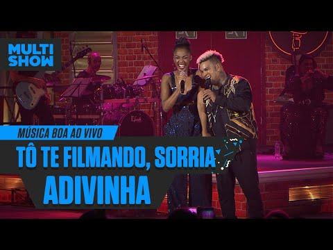 IZA + Rodriguinho   Adivinha + To Te Filmando Sorria  Música Boa Ao Vivo  Música Multishow