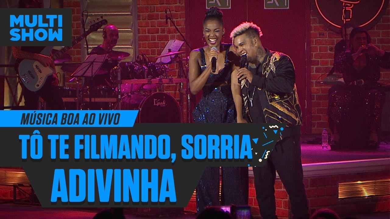 IZA + Rodriguinho |  Adivinha + To Te Filmando (Sorria) | Música Boa Ao Vivo | Música Multishow