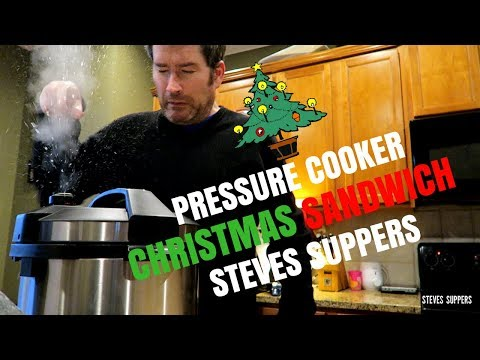 PRESSURE COOKER CHRISTMAS SANDWICH | Steve's Suppers