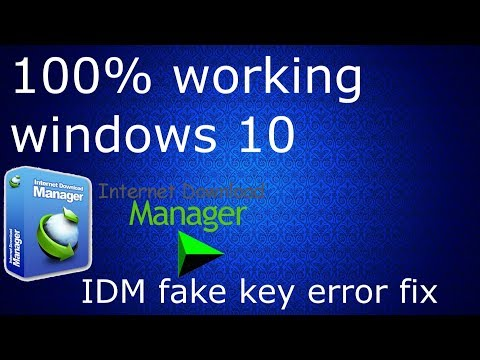 How to remove 'IDM has been registered with the fake serial