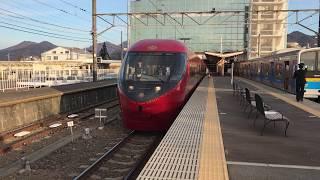 富士急 富士山ビュー特急 富士山駅 出発