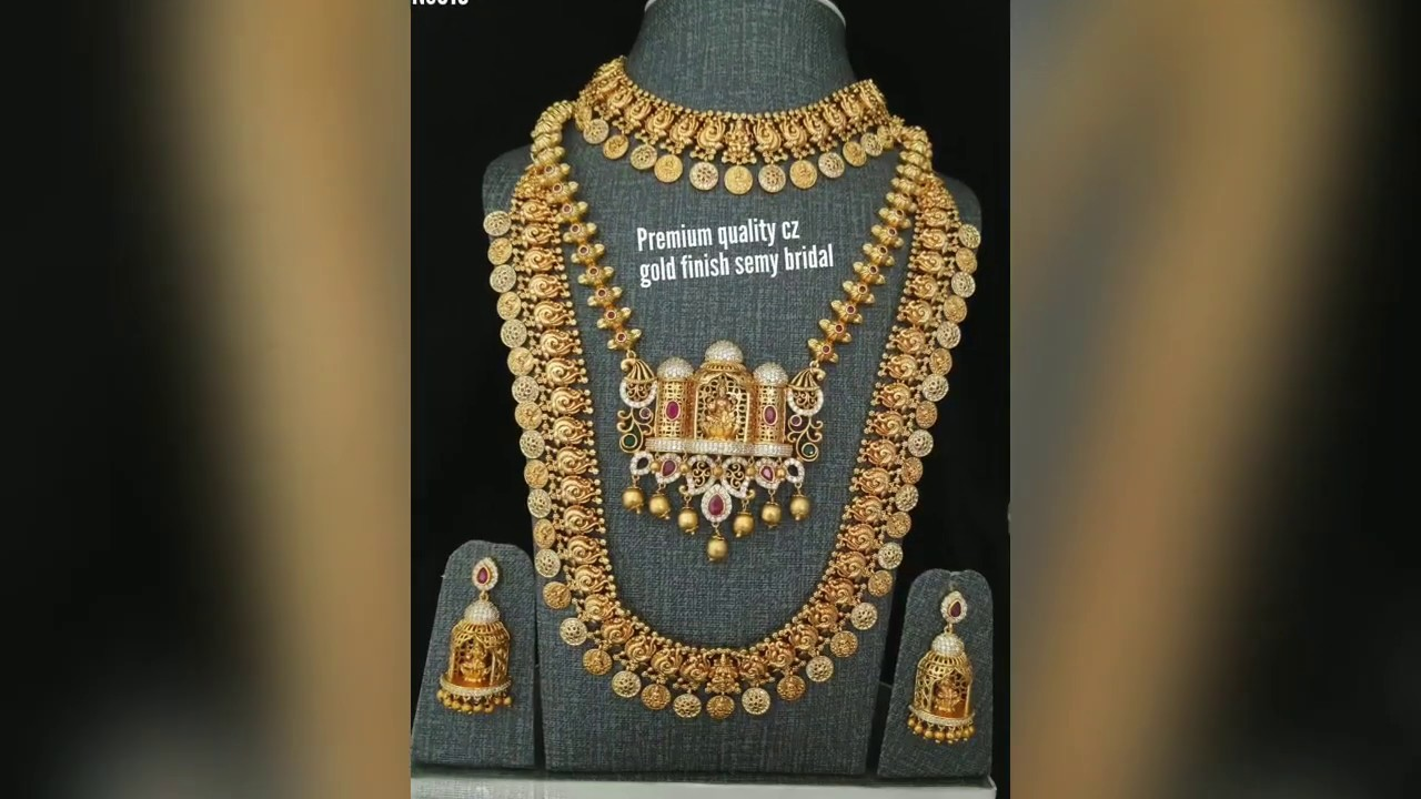 Trendy traditional style immitation jewellery collections malai necklace || foodies mooties tamil
