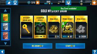 Real Steel wrb mystery draw Zeus