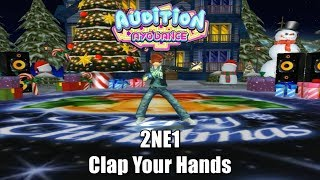 2NE1 - Clap Your Hands , Crazy Freestyle - Audition AyoDance