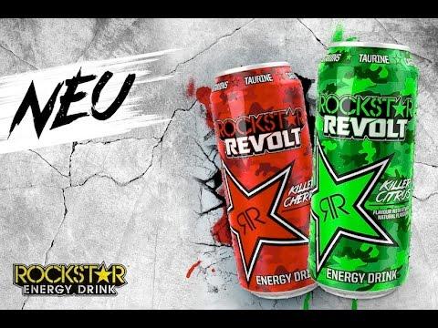 🍹LET´S DRINK: ROCKSTAR REVOLT KILLER CHERRY (DE   NEUHEIT 2016)