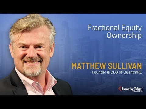 Founder & CEO of QuantmRE on Fractional Equity Ownership