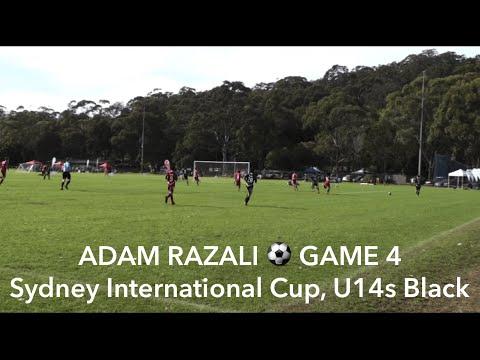 ADAM RAZALI - GAME 4 of Sydney International Cup, U14s Black