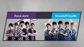 LJL 2017 Summer Split Round3 Match3 Game1 RJ vs DFM