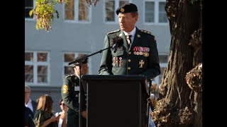 Flagdag 2018   Forsvarschefen taler