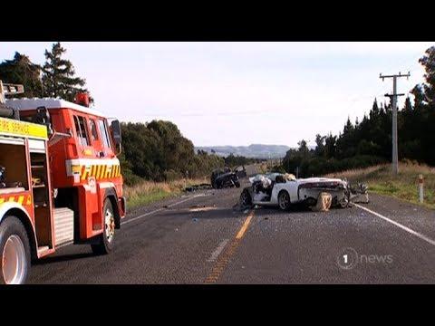 Horror high speed Canterbury crash kills two teens