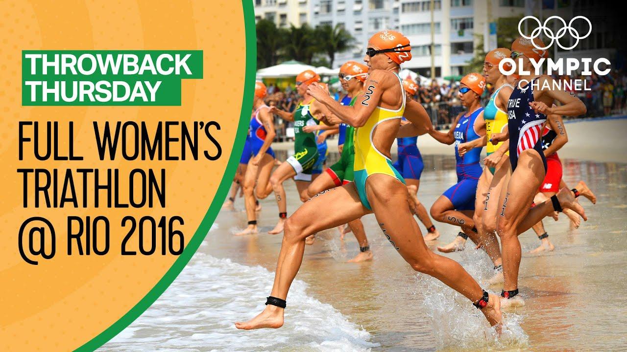 Download Women's Triathlon - Rio 2016 Replay   Throwback Thursday
