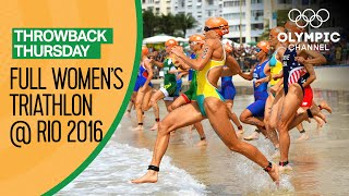 Women's Triathlon - Rio 2016 Replay | Throwback Thursday