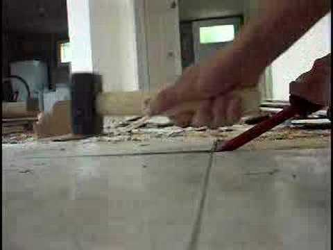 travaux : carrelage - youtube
