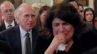 Curb Your Enthusiasm - Larry gets annoyed by crying woman (Fatwa funeral)