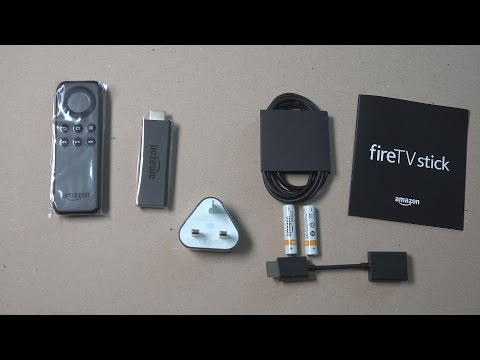 AMAZON FIRE TV STICK UNBOXING