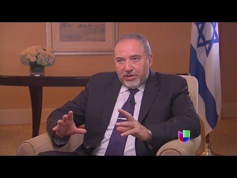 Avigdor Lieberman: la verdadera amenaza la representan los países terroristas