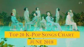 Top 20 K-Pop Songs Chart - June 2018 | CheeYoung95