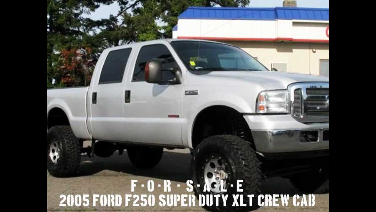 Lifted Tacoma For Sale >> Lifted Truck - 2005 Ford F Super Duty F250 XLT Crew Cab ...
