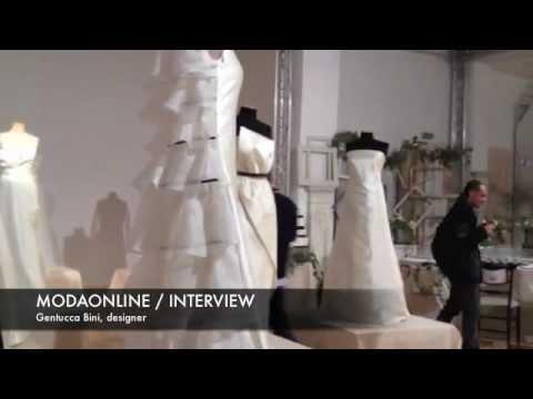 GENTUCCA BINI LANCIA LA LINEA SPOSA. INTERVIEW ALLA DESIGNER