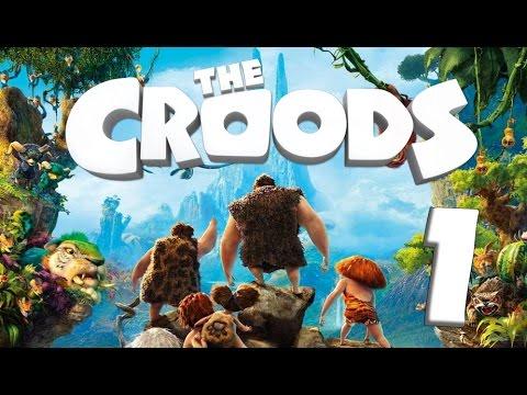 The Croods: Prehistoric Party (WiiU, Wii) Gameplay Part 1 : Desert
