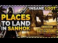 ✔️PUBG MOBILE SANHOK MAP GUIDE : BEST PLACES TO LOOT IN THE NEW SANHOK MAP WITH HIGH LOOT AREAS!
