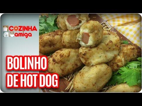 Bolinho De Hot Dog - Chef Gabriel Barone | Cozinha Amiga (21/04/17)