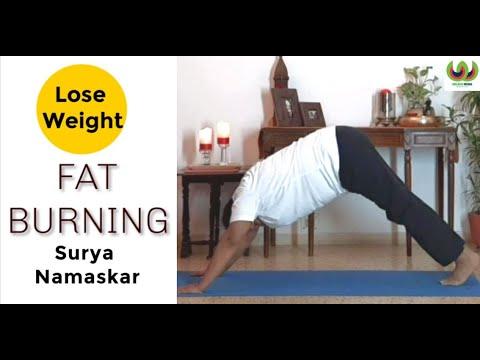 surya namaskar for weight loss  sun salutation for