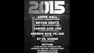 JAK & Andrew Boie Live at Closer PDX NYE 2015