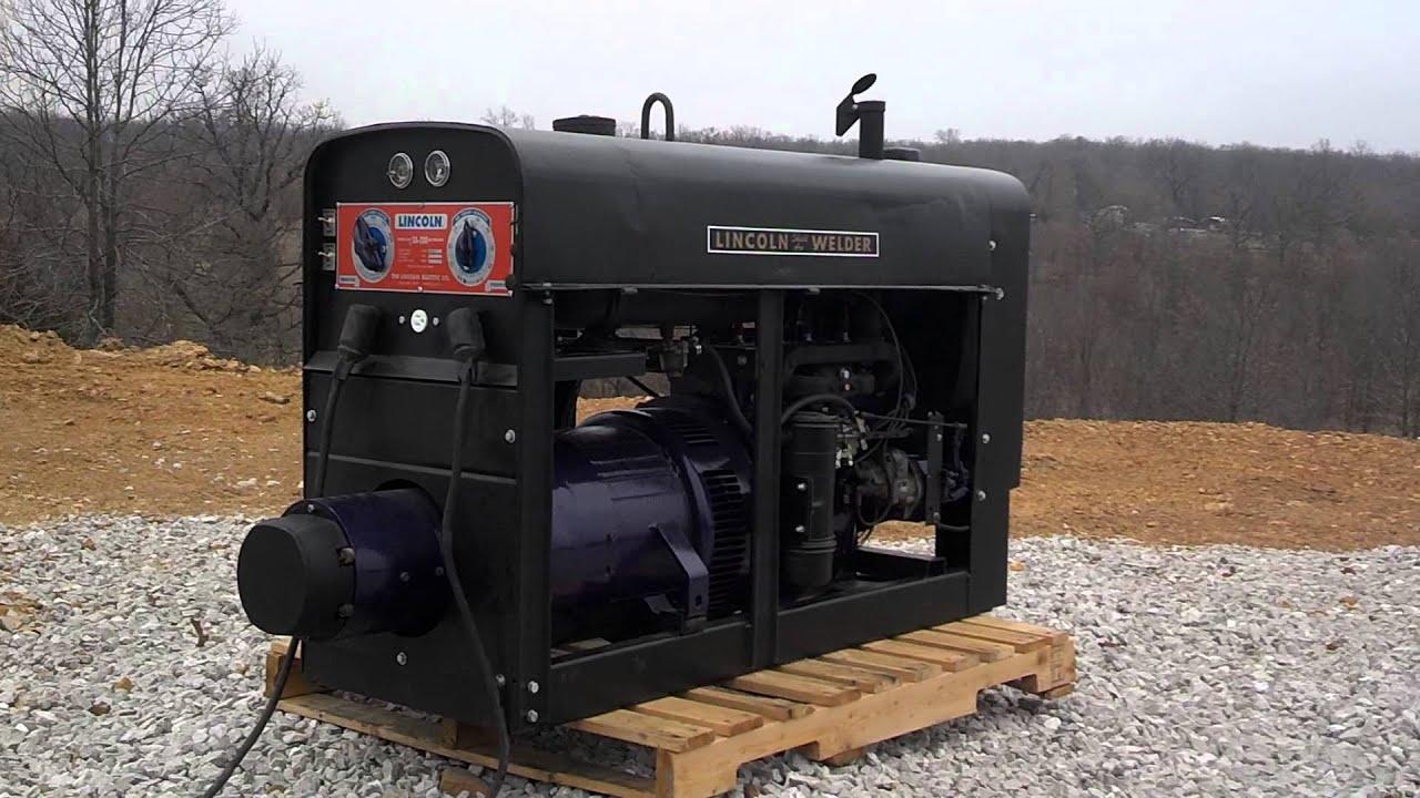 Lincoln Welder Sa200 Pipeliner 1959 K6090 New Rebuilt Engine Sold Sa 200 Welders For Sale All Copper Windings Youtube