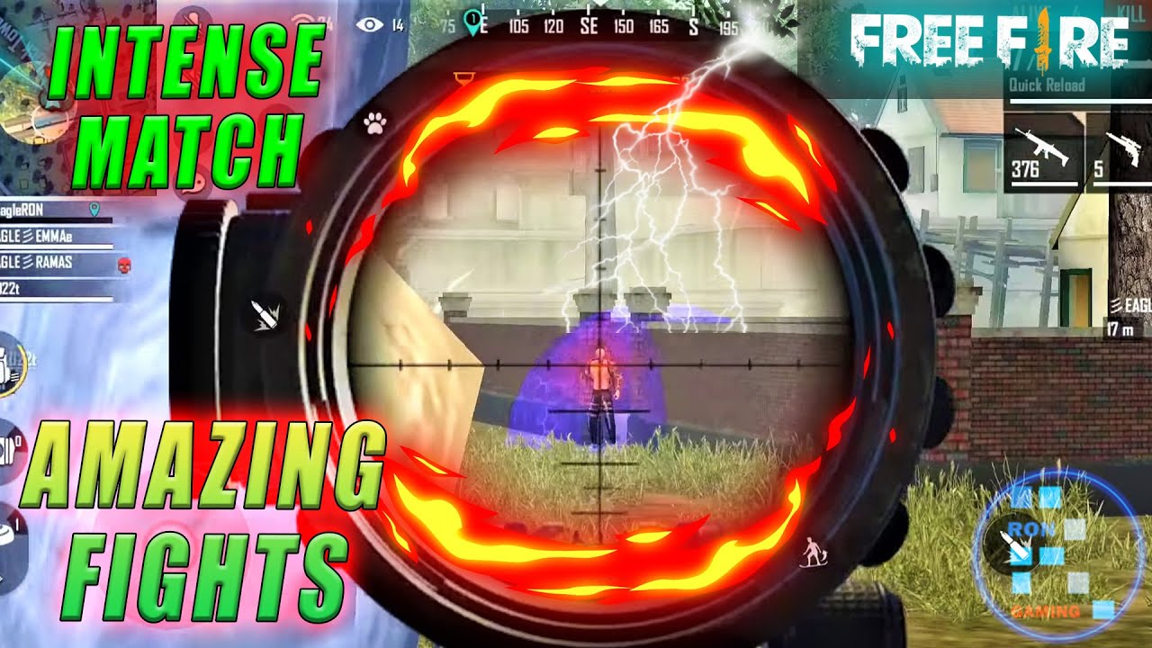 Free-Fire | Amazing Match With Insane Fights And Kills