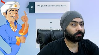 Akinator asked me about my Wife | Sardarcasm screenshot 5