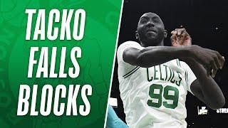 Tacko Fall Racks Up Career-High 4 Blocks in 1 Minute! 👀