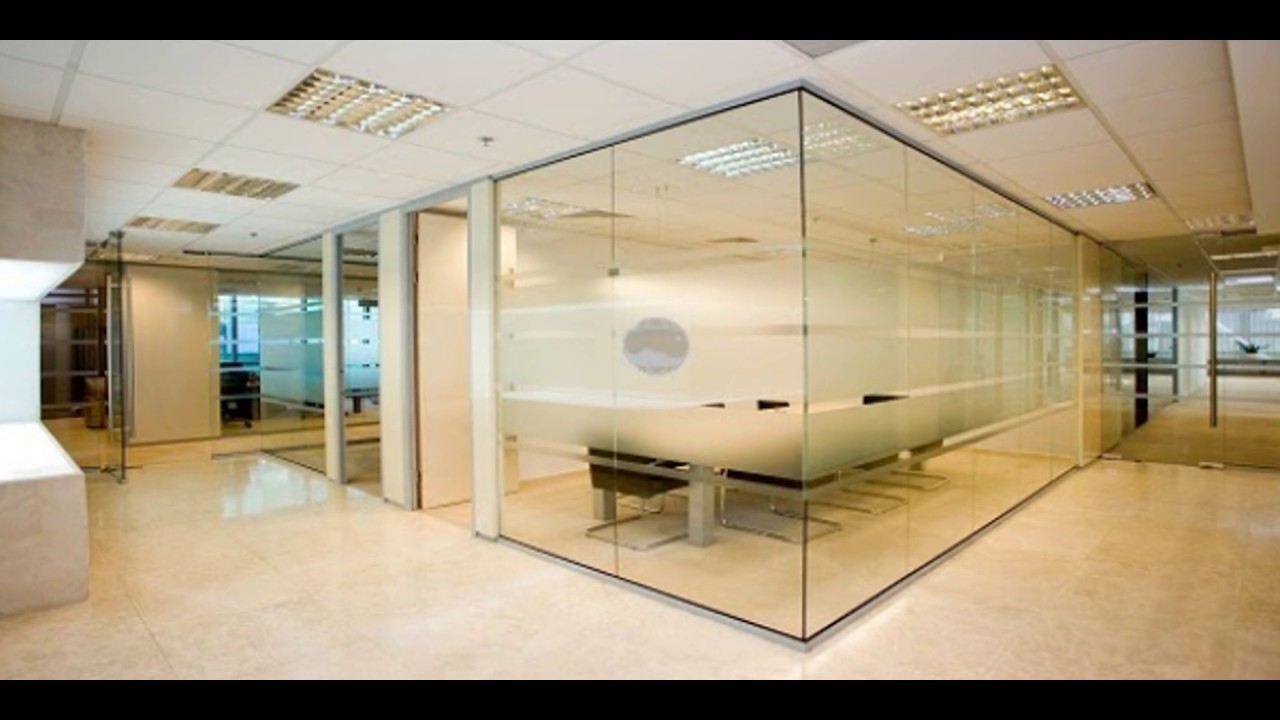 Glass Office Partitioning Youtube